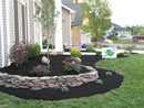 Landscaping design work photo gallery around WNY